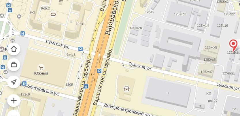 где находится варшавское шоссе 82 мк банк два вида одежды